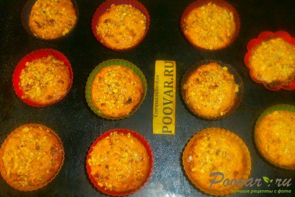 Творожные кексы с орехами и смородиной Шаг 14 (картинка)
