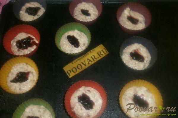 Творожные кексы с орехами и смородиной Шаг 11 (картинка)