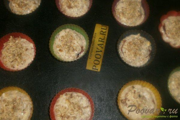 Творожные кексы с орехами и смородиной Шаг 13 (картинка)