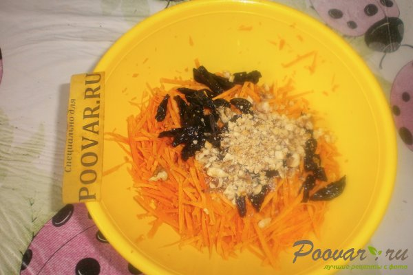 Салат из моркови с куриной печенью Шаг 9 (картинка)