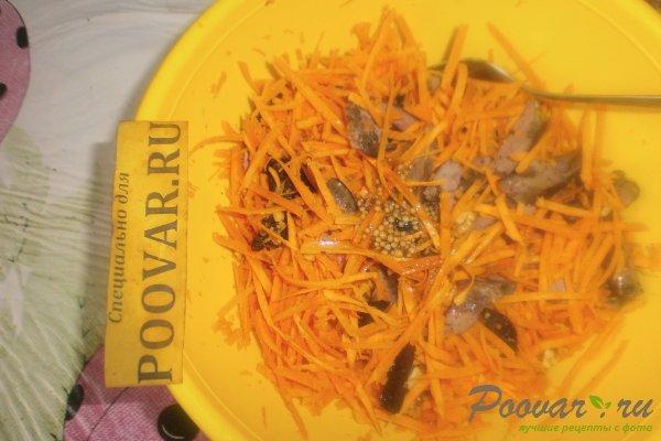 Салат из моркови с куриной печенью Шаг 13 (картинка)