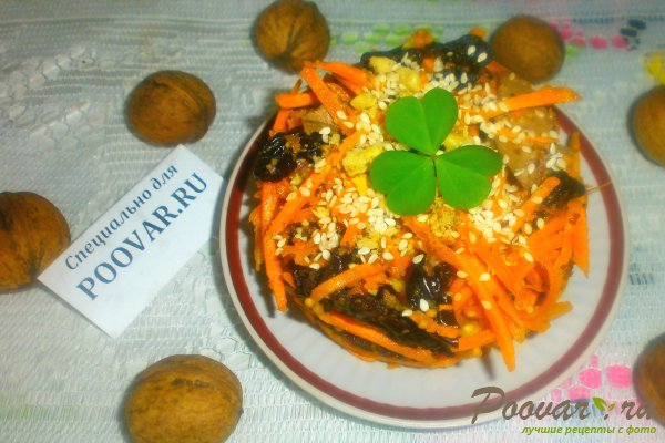Салат из моркови с куриной печенью Шаг 15 (картинка)
