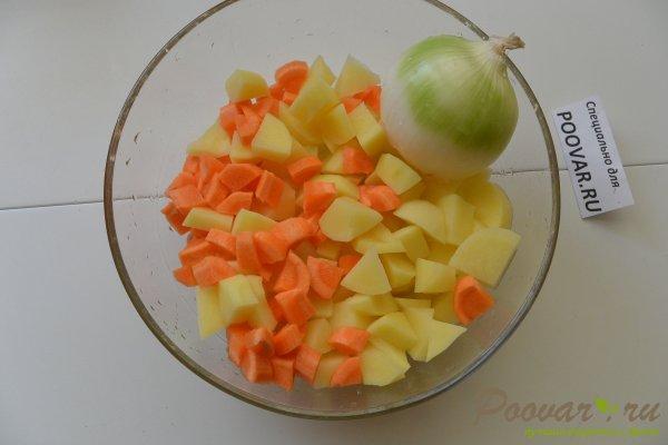Чечевичный суп с курицей Шаг 4 (картинка)