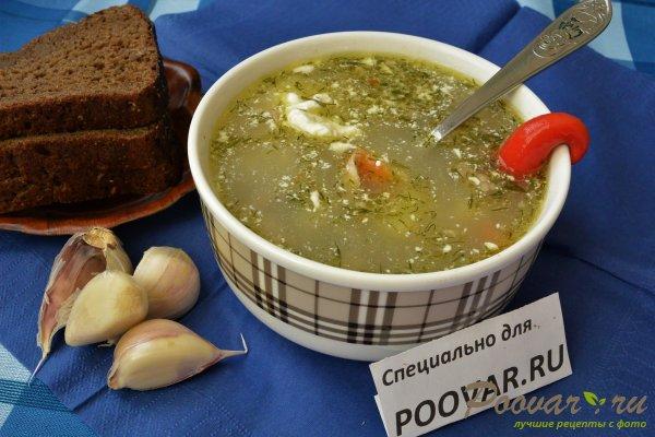 Чечевичный суп с курицей Изображение