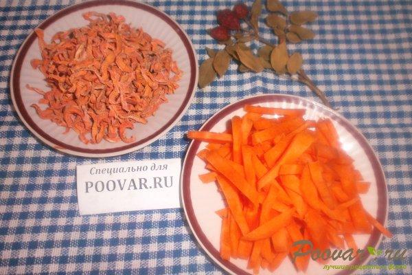Сушка моркови на зиму Изображение