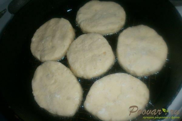 Картофельные пирожки с творогом Шаг 14 (картинка)