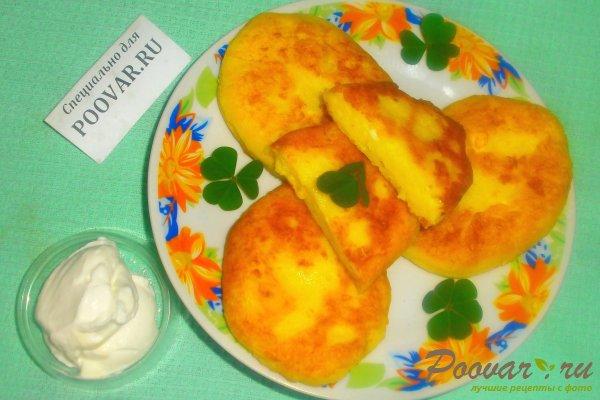 Картофельные пирожки с творогом Шаг 17 (картинка)