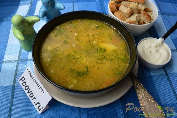 Куриный суп с овсянкой Изображение