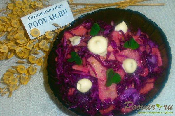 Салат из красной капусты с яблоками Шаг 13 (картинка)