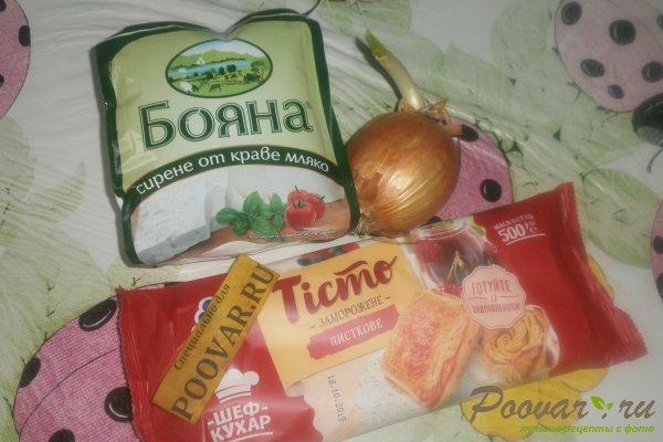 Пирог с луком и брынзой Шаг 1 (картинка)