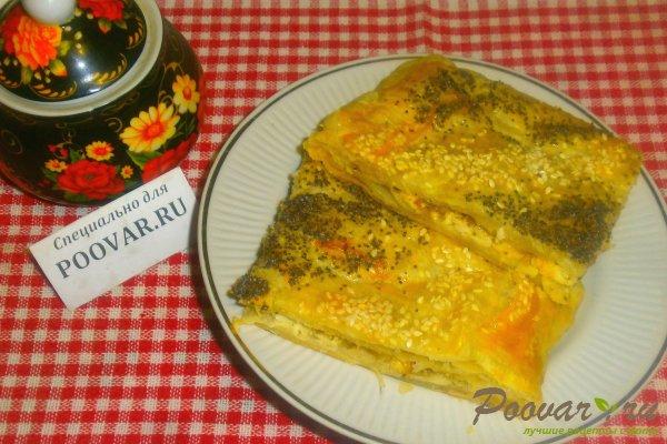 Пирог с луком и брынзой Шаг 14 (картинка)