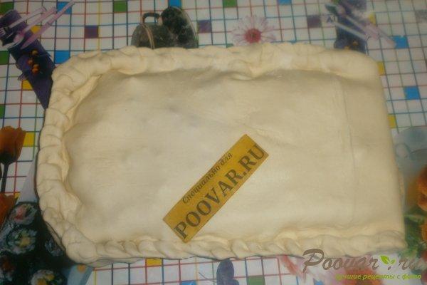 Пирог с луком и брынзой Шаг 11 (картинка)