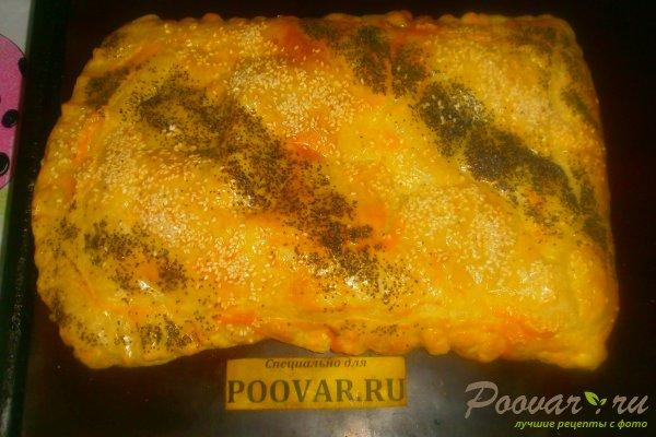 Пирог с луком и брынзой Шаг 13 (картинка)
