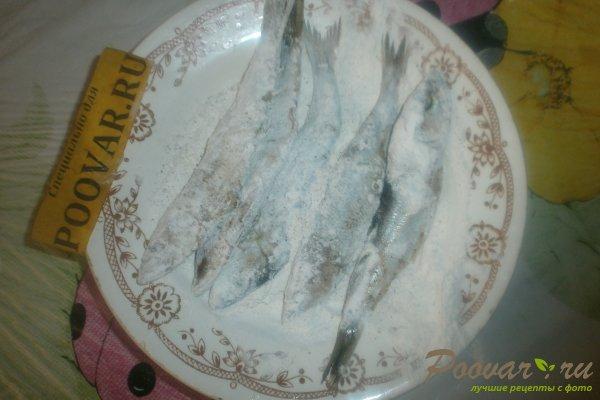 Жареная салака на сковороде Шаг 6 (картинка)