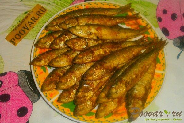 Жареная салака на сковороде Шаг 9 (картинка)