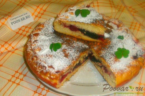Пирог с ягодами и желе Шаг 17 (картинка)