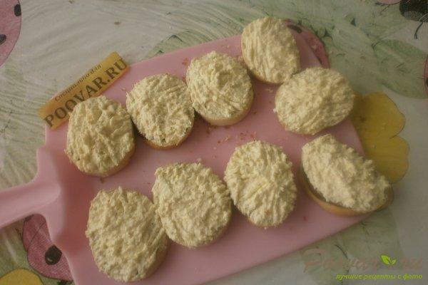 Бутерброды с крабовыми палочками Шаг 8 (картинка)