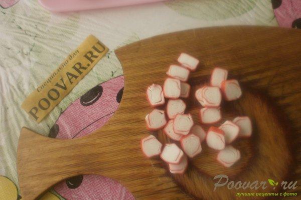 Бутерброды с крабовыми палочками Шаг 9 (картинка)