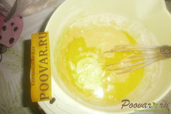 Заливной пирог с вишней и вареньем Шаг 6 (картинка)