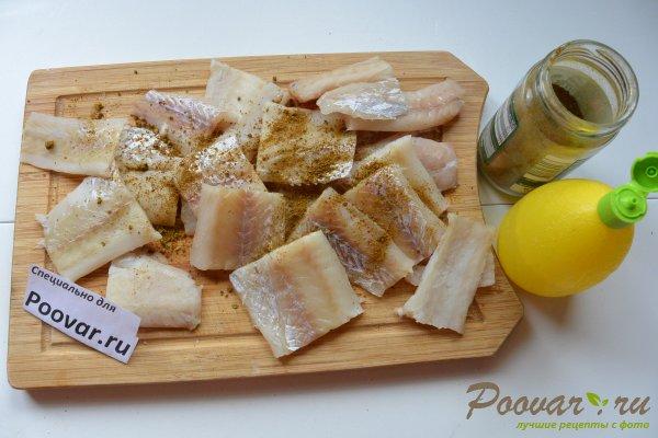 Рыбный пирог с картофелем Шаг 5 (картинка)