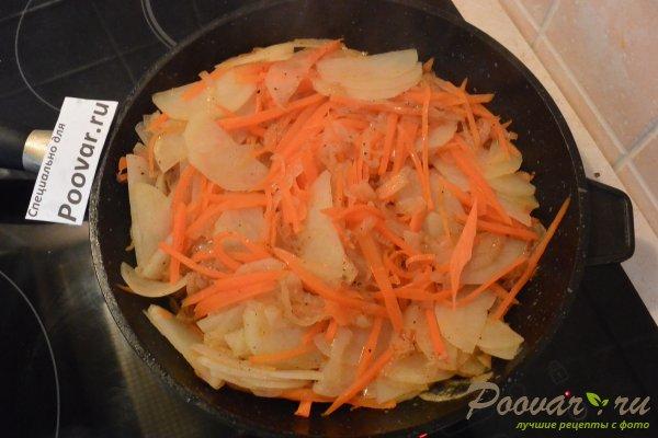 Рыбный пирог с картофелем Шаг 7 (картинка)