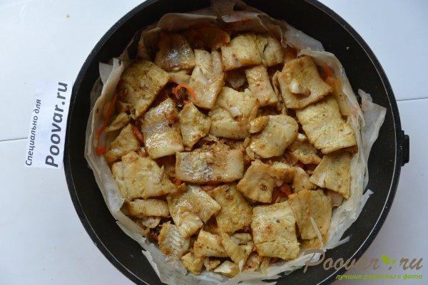 Рыбный пирог с картофелем Шаг 9 (картинка)