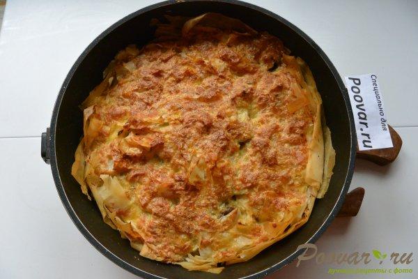 Рыбный пирог с картофелем Шаг 13 (картинка)