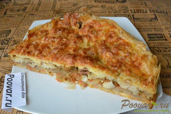 Рыбный пирог с картофелем Шаг 14 (картинка)