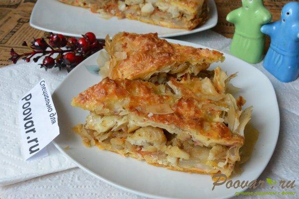Рыбный пирог с картофелем Шаг 15 (картинка)
