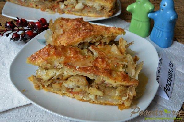Рыбный пирог с картофелем Изображение
