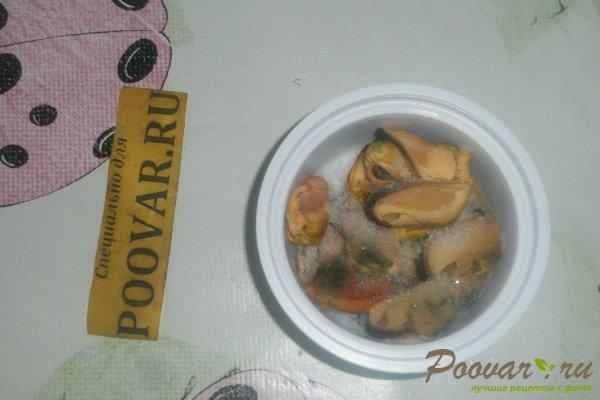 Салат из морской капусты с мидиями Шаг 1 (картинка)