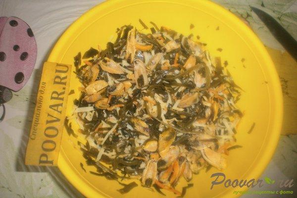 Салат из морской капусты с мидиями Шаг 8 (картинка)