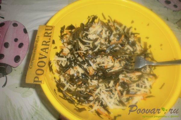 Салат из морской капусты с мидиями Шаг 6 (картинка)
