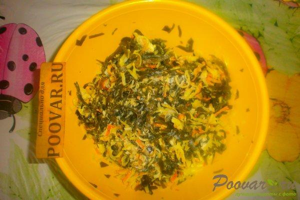 Салат из морской капусты с мидиями Шаг 10 (картинка)