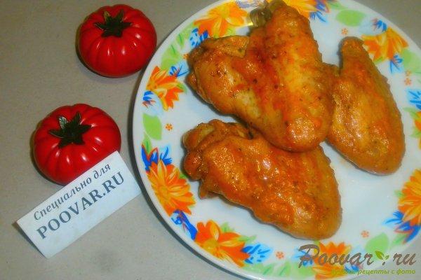 Куриные крылышки в томатно-майонезном соусе Изображение