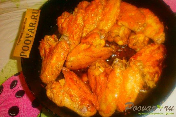Куриные крылышки в томатно-майонезном соусе Шаг 13 (картинка)