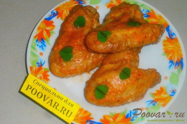 Куриные крылышки в томатно-майонезном соусе Шаг 14 (картинка)