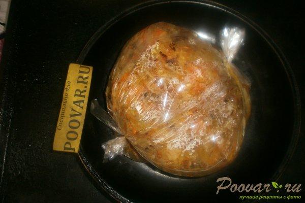 Капуста с курицей запечённые в рукаве Шаг 13 (картинка)