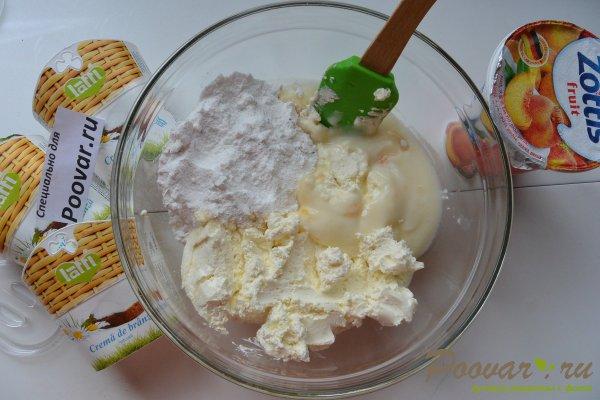 Творожный торт без выпечки с желатином Шаг 11 (картинка)