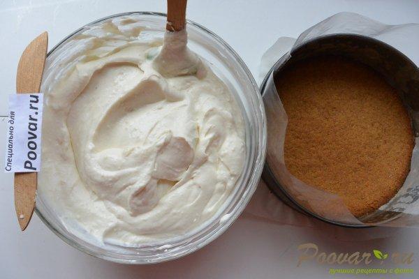 Творожный торт без выпечки с желатином Шаг 15 (картинка)