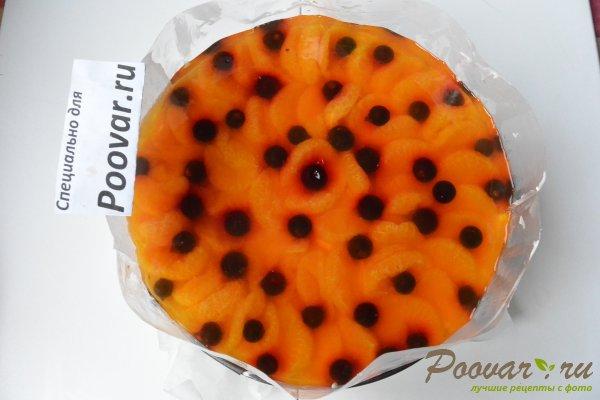 Творожный торт без выпечки с желатином Шаг 19 (картинка)