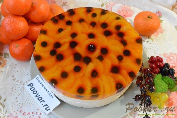 Творожный торт без выпечки с желатином Шаг 20 (картинка)