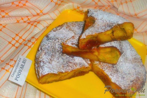 Пирог с творогом и абрикосами Изображение