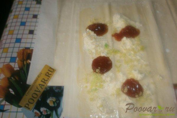 Пирог с творогом и абрикосами Шаг 10 (картинка)