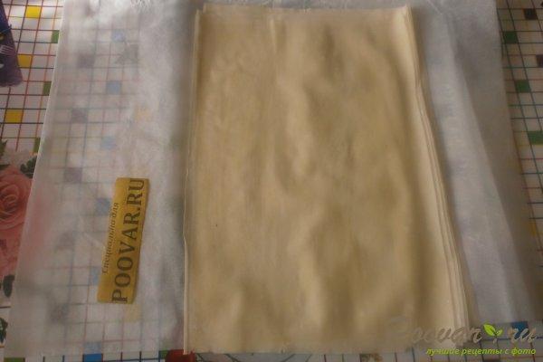 Рулеты из теста фило с сыром Шаг 8 (картинка)