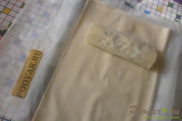 Рулеты из теста фило с сыром Шаг 12 (картинка)
