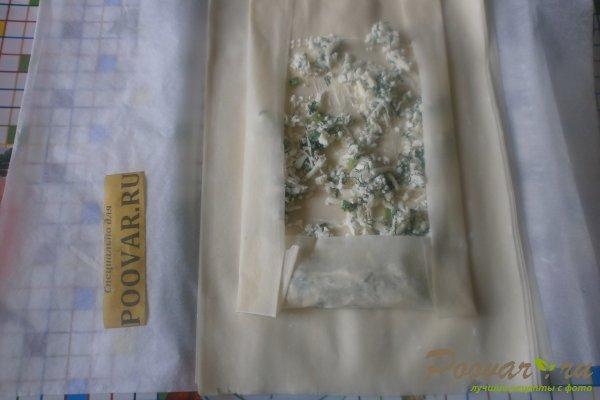 Рулеты из теста фило с сыром Шаг 11 (картинка)