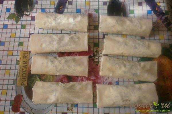 Рулеты из теста фило с сыром Шаг 13 (картинка)