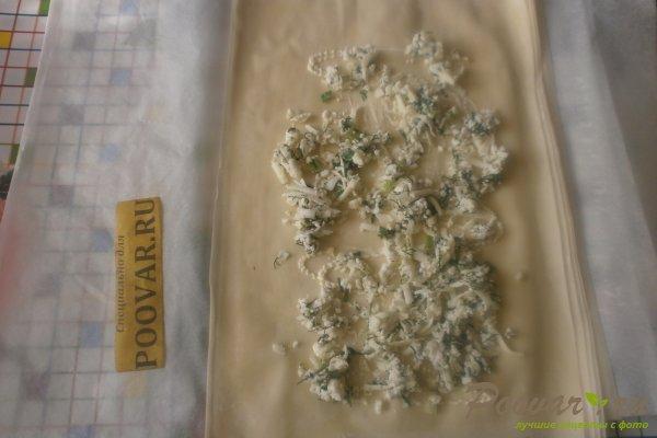 Рулеты из теста фило с сыром Шаг 10 (картинка)