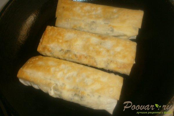 Рулеты из теста фило с сыром Шаг 15 (картинка)